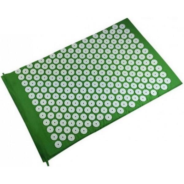 Массажеры, Массажный коврик Onhillsport Релакс аппликатор Кузнецова 55 х 40 см Зеленый (MS-1251)  - купить со скидкой