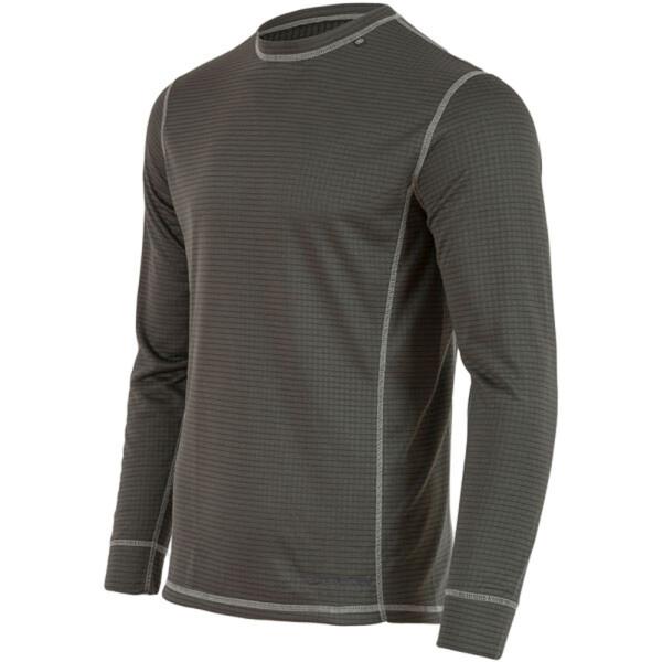 Купить Термобелье, Термофутболка Highlander (с длинным рукавом) Thermo 160 Mens Dark Grey L (927412)