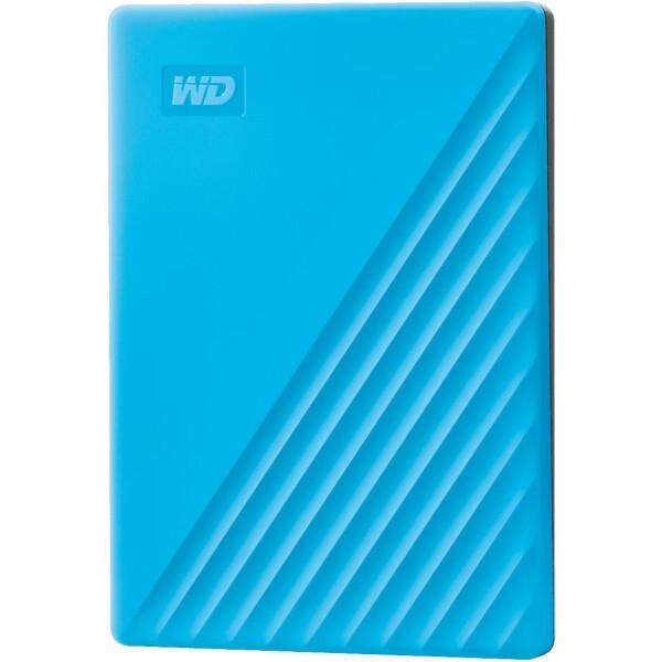 Купить Внешние жесткие диски, Western Digital My Passport 2TB WDBYVG0020BBL-WESN 2.5 USB 3.0 Blue