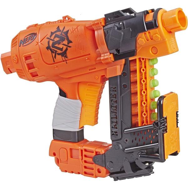 Купить Оружие игрушечное, Бластер Hasbro Nerf Zombie Strike Nailbiter (E2672)