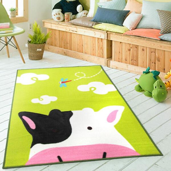 Купить Развивающие коврики, Коврик для детской комнаты Berni Корова 100 х 130 см Разноцветный (45974)