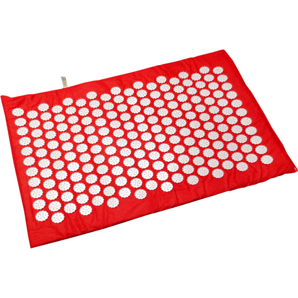 Купить Массажеры, Массажный коврик Onhillsport Релакс аппликатор Кузнецова 55 х 40 см Красный (MS-1251-4)