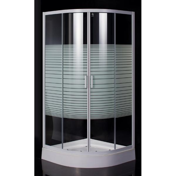 Купить Душевые кабины, Душевая кабина EGER TISZA(AMUR) 90х90х185 см, стекло Frizеk (стекла+двери), 599-021/1-A