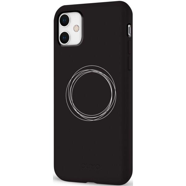 Чехол Pump Silicone Case Circles on Dark для iPhone 11