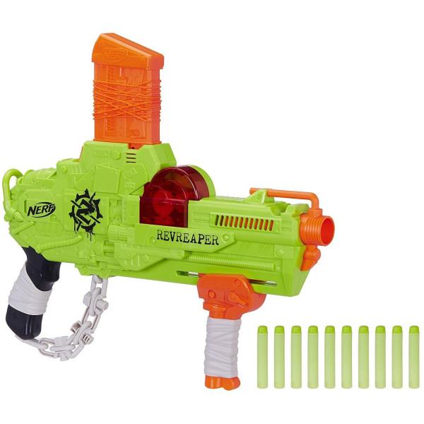 Купить Оружие игрушечное, Бластер Hasbro Nerf Zombie Strike RevReaper (E0311)