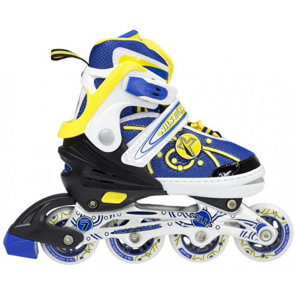 Купить Роликовые коньки, Nils Extreme NA1152A (31-34) Yellow (NA1152A-YLW_S31-34)