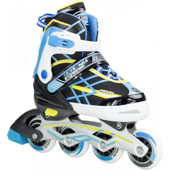 Купить Роликовые коньки, Nils Extreme NA1160A (31-34) Black/Blue (NA1160A-BB_S31-34)