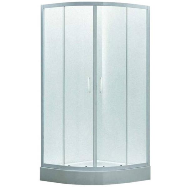 Купить Душевые кабины, Душевая кабина EGER TISZA 90х90х185 см, стекло Zuzmara (стекла+двери), 599-021/1