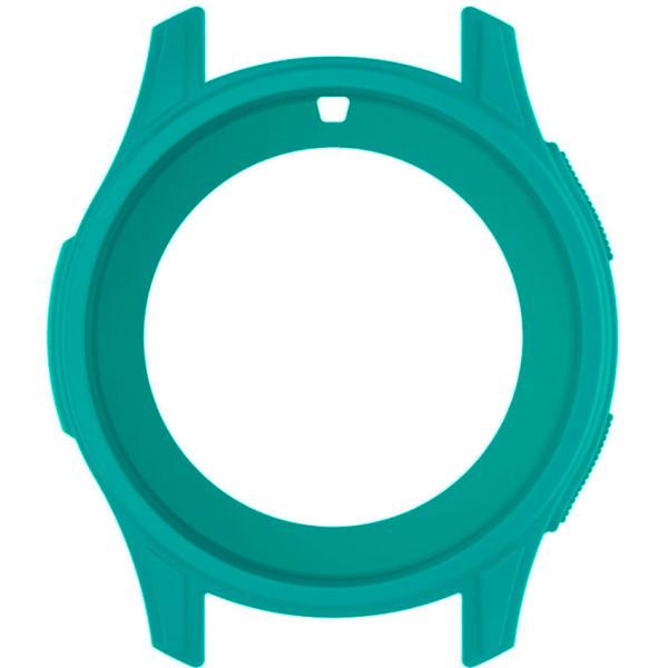 Купить Аксессуары к смарт-часам и фитнес-браслетам, Силиконовый чехол Watchbands для Samsung Gear S3 / Samsung Galaxy Watch 46mm – бирюзовый (WB0016CASEGREEN)
