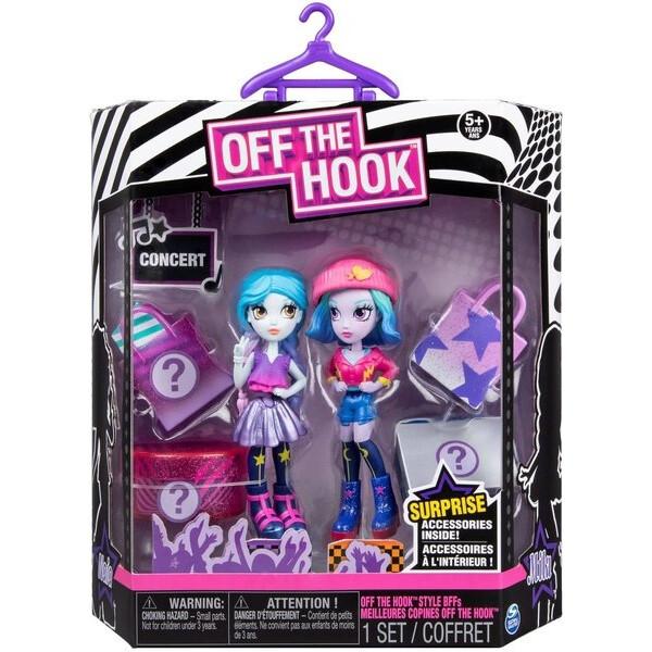 Купить Куклы, наборы для кукол, Набор кукол Spin Master Off the Hook Коктейльная вечеринка Ная и Мила сюрприз (SM74301/0052)