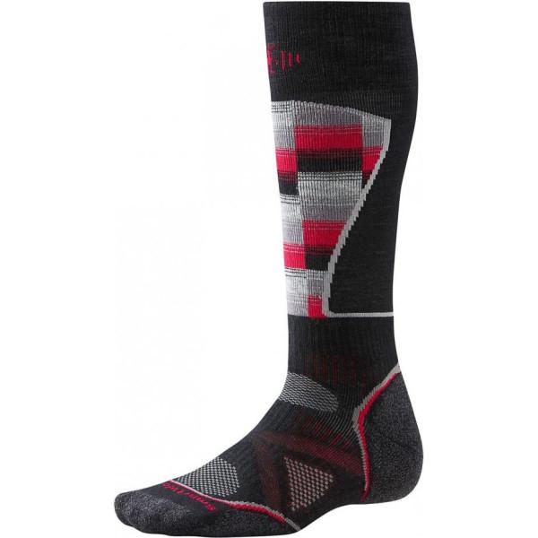 Купить Термобелье SMARTWOOL Men Ski Medium Pattern black/red p.L (SW SW018.626-L)