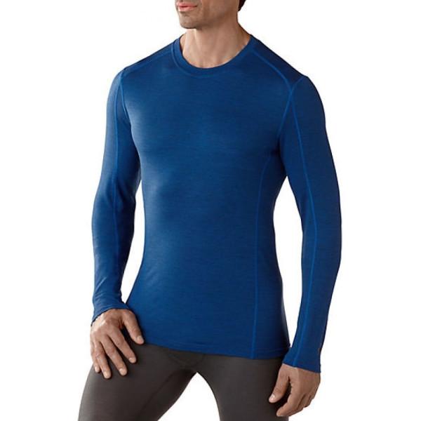 Купить Термобелье SMARTWOOL Mens NTS Micro 150 Pattern Crew футболка bright blue p.XL (SW SN705.378-XL)