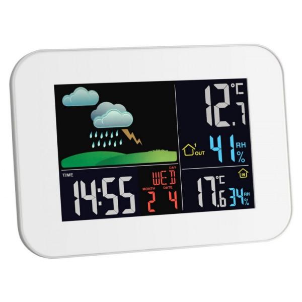 Купить Метеостанции, Метеостанция TFA Primavera , цветной ЖК-дисплей, 175x26x125 мм (35113602)