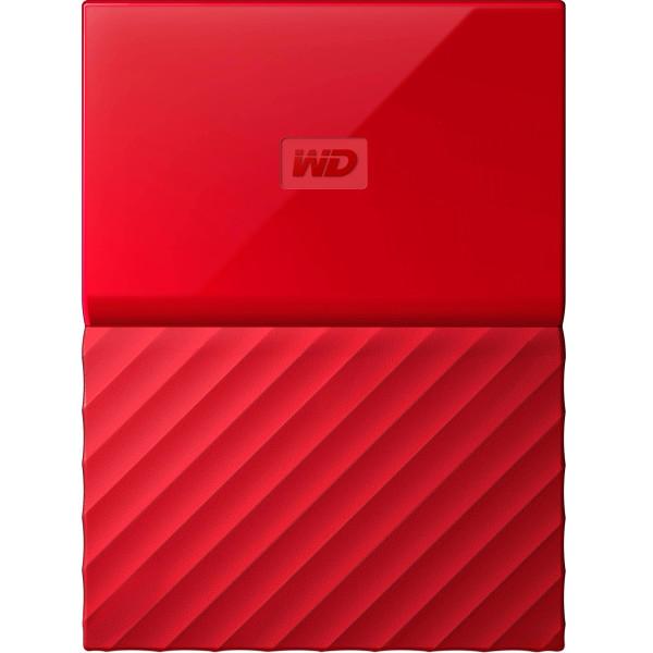 Купить Внешние жесткие диски, Western Digital My Passport 2TB WDBS4B0020BRD-WESN 2.5 USB 3.0 Red