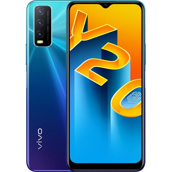 Купить Смартфоны и мобильные телефоны, VIVO Y20 4/64 GB Nebula Blue