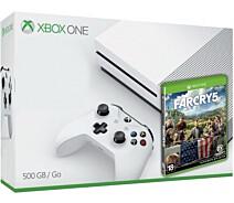 Игровая консоль Microsoft Xbox One S 1TB + Игра Far Cry 5 (Расширенная 18  месяцев)
