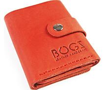 965d3d90a126 Женское портмоне ручной работы из кожи BOGZ Roll CH Red - купить в ...