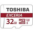 Toshiba EXCERIA microSDHC UHS-I U3 32GB class 10+SD (THN-M302R0320EA)