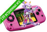 Купить - игровую консоль  Globex PGP-200 розовый