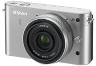 Купить - фотоаппарат  Nikon 1 J1 10 VR Kit Silver