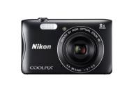 Купить - фотоаппарат  Nikon Coolpix S3700 Black