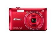Купить - фотоаппарат  Nikon Coolpix S3700 Red