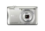 Купить - фотоаппарат  Nikon Coolpix S3700 Silver