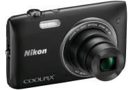 Купить - фотоаппарат  Nikon Coolpix S3500 Black + Подводный чехол DicaPac WP-ON