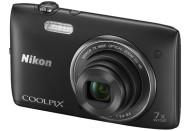 Купить - фотоаппарат  Nikon Coolpix S3500 Black