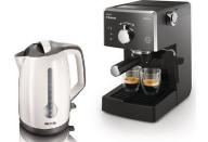 Купить - кофеварку  Philips Saeco HD8323/39 + HD4649/00