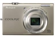 Купить - фотоаппарат  Nikon Coolpix S6200 silver (уценка)