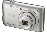 Купить - фотоаппарат  Nikon Coolpix A300 Silver