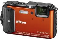 Купить - фотоаппарат  Nikon Coolpix AW130 Orange