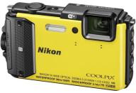 Купить - фотоаппарат  Nikon Coolpix AW130 Yellow