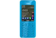 Купить - мобильный телефон и смартфон  Nokia Asha 206 Cyan