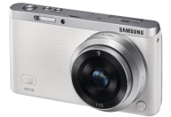 Купить - фотоаппарат  Samsung NX Mini 9mm Kit White