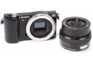 Купить - фотоаппарат  Sony Alpha 5000 16-50mm Kit Black