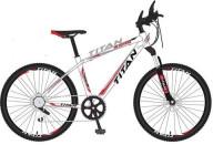 """Купить - велосипед  Titan 26"""" Buster (20"""") бело-красный"""