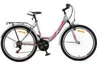 """Купить - велосипед  Titan 26"""" Elite 17 серо-розовый"""