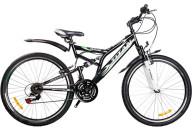 """Купить - велосипед  Titan 26"""" Ghost 19 черно-зеленый"""