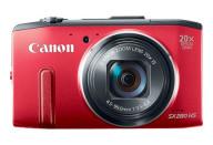 Купить - фотоаппарат  Canon PowerShot SX280HS Red