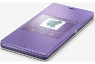 Купить - чехол для телефона  Sony Xperia Z3 Style Cover Window SCR24 Purple