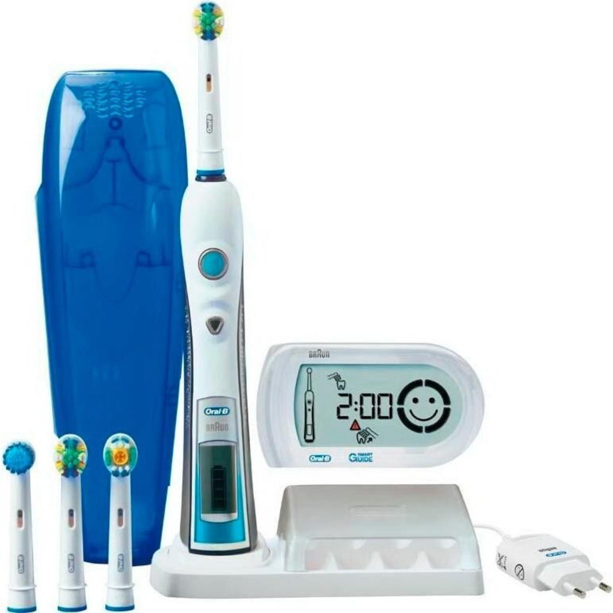 ▷ Зубна щітка Braun Oral-B Triumph Smart Guide 5000 D 32.546.5X - купити в  ⁕ ALLO.UA ⁕ ціна 0950e2fe1b787