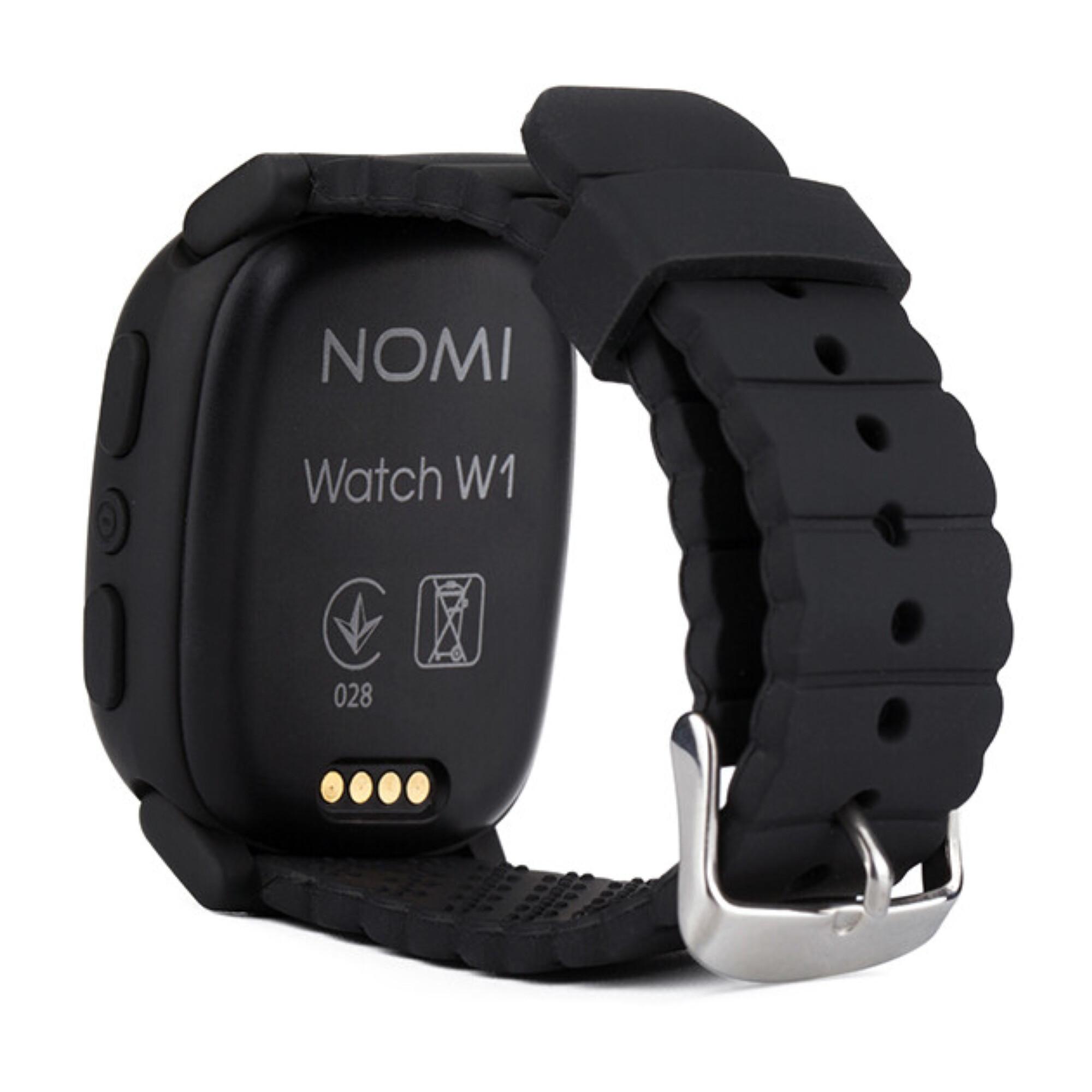 ▷ Смарт-годинник дитячі з GPS Nomi Watch W1 Black - купити в ⁕ ALLO.UA ⁕  ціна a7b7cf47eb5f2