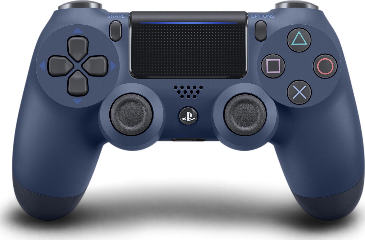 67fa56b25f2507 Фото - ігровий аксесуар для консолей PlayStation Dualshock 4 V2 Midnight  Blue