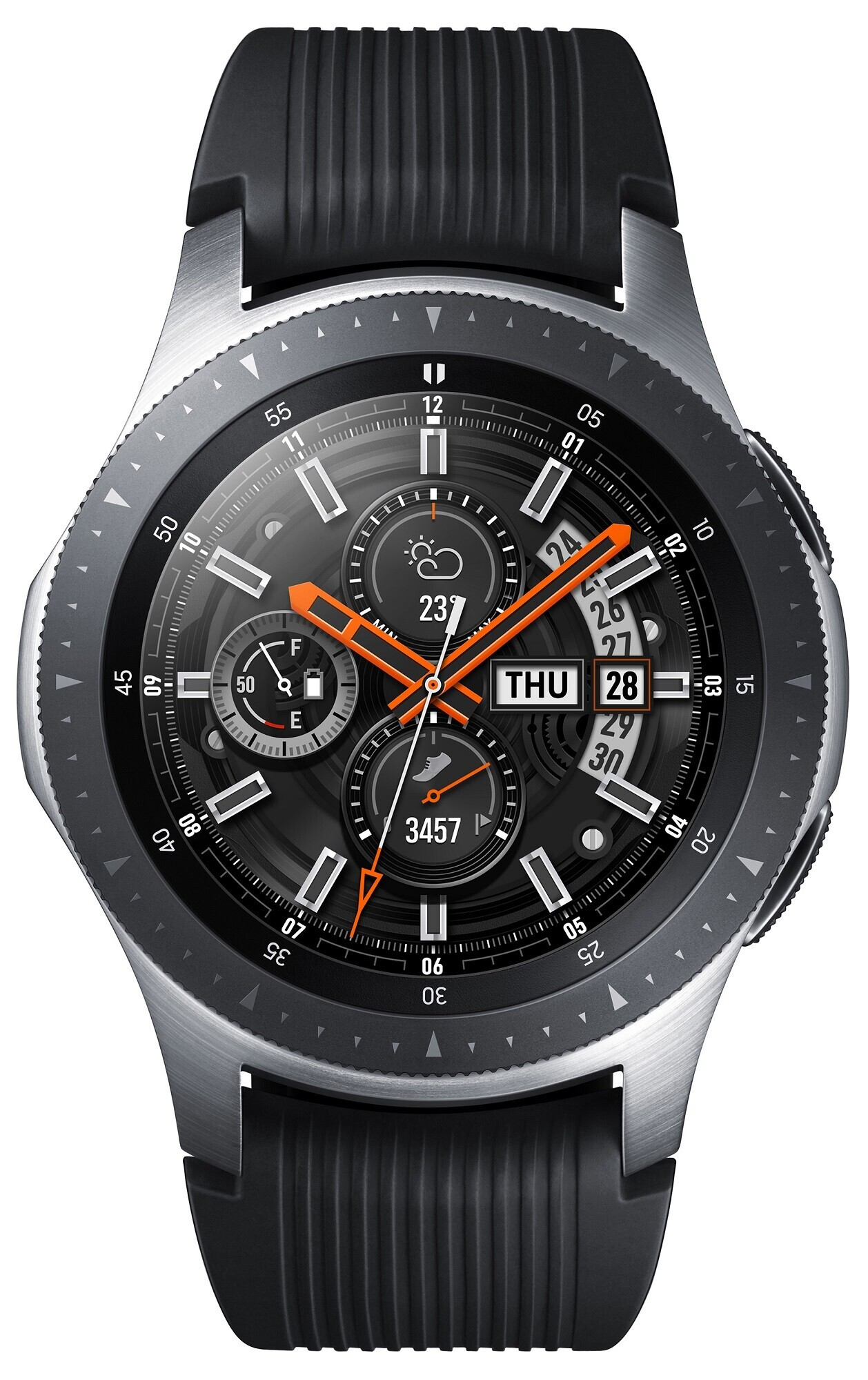 Фото - смарт-годинник Samsung Galaxy Watch 46mm Silver (SM-R800NZSASEK) e77ac9f629a7a