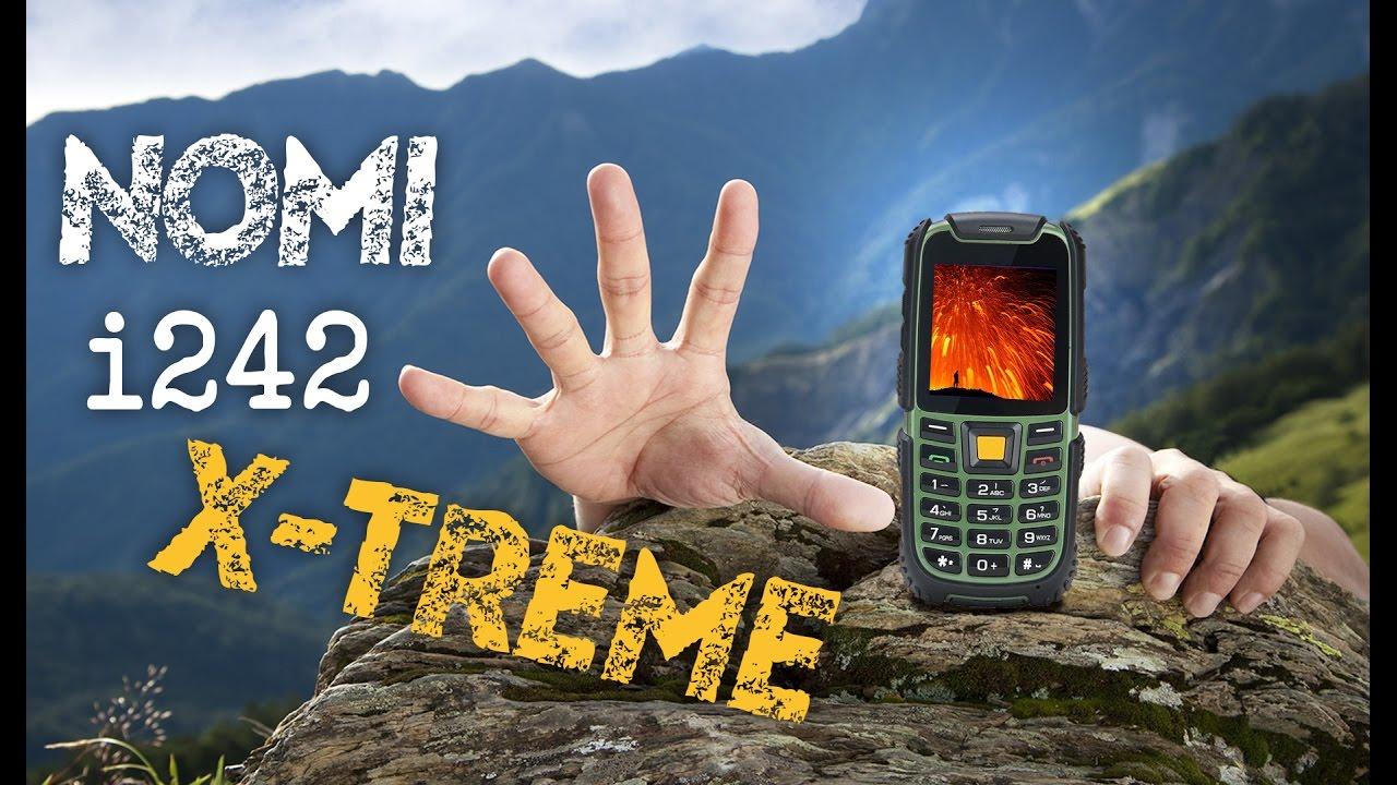 Nomi i242 X-treme Black-Orange — купить в интернет-магазине АЛЛО. Низкие  цены на Nomi i242 X-treme Black-Orange  отзывы, описание, характеристики,  фото. 033db68c38b